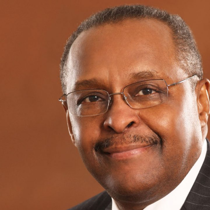 Dr. George Ross, Central Michigan University President